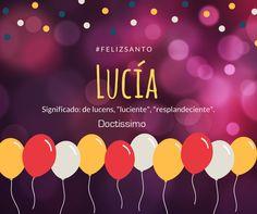 #Nombredeldía ¡Felicidades a todas las Lucía en su día!  #FelizMartes