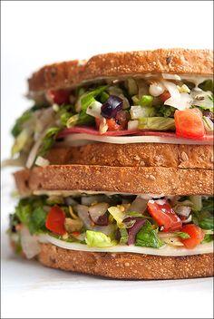 Chopped Salad Sandwich // Foie Gras Hot Dog – Chopped Salad Sandwich #5days5ways