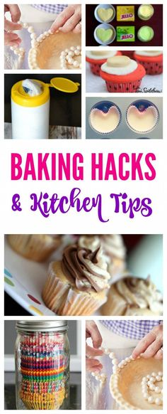 Hacks and Kitchen Tips! How to save time and create wonderful treats in your kitchen!Baking Hacks and Kitchen Tips! How to save time and create wonderful treats in your kitchen! Baking Secrets, Baking Tips, Baking Recipes, Baking Hacks, Dessert Recipes, Bread Baking, Dessert Ideas, Beef Recipes, Chicken Recipes