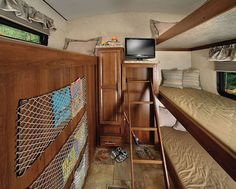 2015 Forest River Wildcat 312BHX Bunk Room