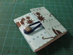 matchbook jewelry   Needle Matchbook ∙ Version by illuminette on Cut Out + Keep