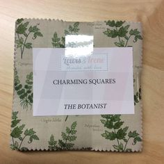 """Pack of The Botanist """"DISCOUNTED PRICE"""" 5 inch Charm Charming Squares Lewis & Irene Patchwork Quilting Sewing by MarilynsPatchwork on Etsy https://www.etsy.com/uk/listing/522779497/pack-of-the-botanist-discounted-price-5"""