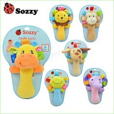 Sozzy Musical Baby Rattles Plush Toys //Price: $7.29 & FREE Shipping //     #deal