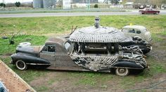 Discover Argentine Vintage Funeral Cadillacs in Caleu Caleu Department, Argentina: The clients of these mysterious hand-crafted funeral cars took their last ride in style. Funeral, Flower Car, Cadillac Fleetwood, Us Cars, Unique Cars, Barn Finds, Ambulance, Vintage Cars, Cool Cars