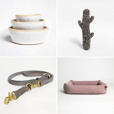 We've professed our love for Cloud7 in the past and they've got a whole mess o' new beds, leashes, toys, bowls, and accessories that are just gorgeous, as well as an expanded collection of their classic travel beds.