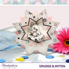see paperwishes episode showing smudge and mitten card pack