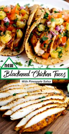Baked Chicken Tacos, Chicken Taco Recipes, Easy Baked Chicken, Mexican Chicken Tacos, Healthy Chicken Tacos, Healthy Tacos, Chicken Wraps, Stay Healthy, Healthy Eating
