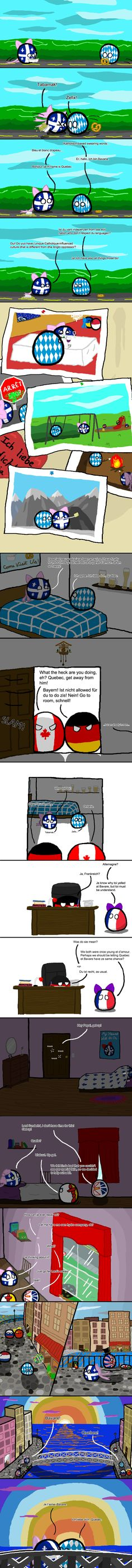 Parler Damour | Polandballs Countryballs