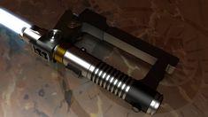 Love his light saber