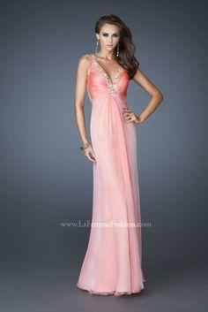 La Femme Dress 18693 at Peaches Boutique