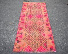 turkish rug oushak rug vintage rug turkey rug by turkishrugstar Rustic Rugs, Rustic Decor, Types Of Rugs, Pink Rug, Bohemian Decor, Tribal Rug, Rug Runner, Wool Rug, Vintage Rugs