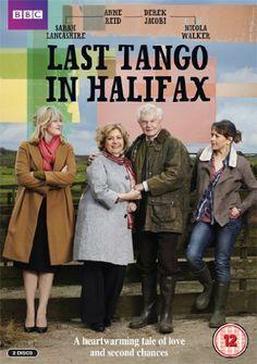 Last Tango in Halifax written by Sally Wainwright, starring Anne Reid, Derek Jacobi, Sarah Lancashire and Nicola Walker. Nicola Walker, Last Tango In Halifax, Netflix, Bbc Drama, Bbc Tv, Great Tv Shows, Favorite Tv Shows, Movies And Tv Shows, Movie Tv