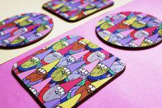 Lydia Meiying 10 December, Coasters, Coaster