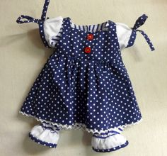 dress for waldorf doll