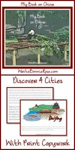 Handwriting Worksheets and Geography of China