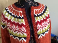 Ravelry: Project Gallery for Afmæli - anniversary sweater pattern by… Homemade Wedding Gifts, Homemade Anniversary Gifts, Anniversary Gifts For Couples, Fair Isle Knitting Patterns, Sweater Knitting Patterns, Knitting Designs, 20 Year Anniversary, Wedding Anniversary, Birthday Gifts For Sister