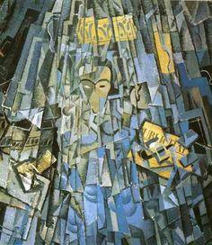 Reproduction de Dali, Autoportrait Cubiste. Tableau peint à la main dans nos ateliers. Peinture à l'huile sur toile.