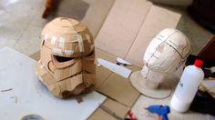 #75: Stormtrooper Helmet Part 1 - Cardboard (free template) | Costume | ...