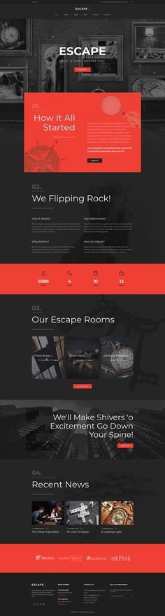 Own an escape room? Want to set up an incredible website for your business? With our template, we offer you an amazing, responsive design that will always satisfy your customers. A wide range of Go...