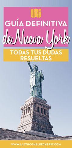 [GUÍA] Planifica tu viaje a Nueva York y no te olvides de ningún detalle importante. #NuevaYork #NewYork