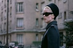 Catherine Deneuve-Belle de Jour.  fashion by Yves Saint Laurent, 1960's.