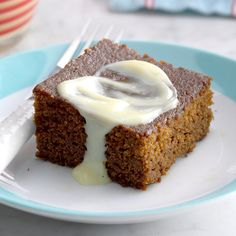 Contest-Winning Gingerbread with Lemon Sauce Recipe -I asked my mother-in-law for this recipe once I learned it's my husband's favorite. Now I bake it whenever he needs an extra-special treat. Spice cake topped with lemony sauce makes us both smile. —Kristen Oak, Pocatello, Idaho