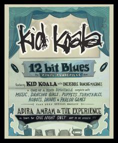 Kid Koala 12 bit Blues The Vinyl Vaudeville Tour  #camuz #musique #montreal #kidkoala
