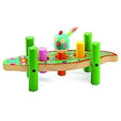 Djeco Tap Game KikouCrock. ** Visit the image link more details. (This is an affiliate link) #HammeringPoundingToys