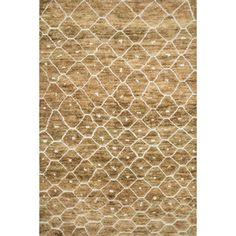 "Hand Knotted Phoenix Rug Fawn (7'9""X9'9"") 