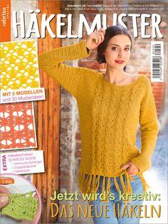 Knitting Patterns, Crochet Patterns, Crochet Magazine, Knit Crochet, Bolero Crochet, Crochet Clothes, Diana, Lady, Magazines