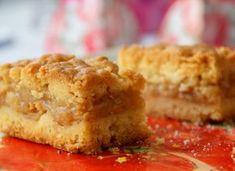 Z Kuchni Do Kuchni: Jabłecznik na kruchym cieście - szybki i pyszny! Sweet Desserts, Vegan Desserts, Sweet Recipes, Apple Cake Recipes, Dessert Recipes, Good Food, Yummy Food, Just Bake, Vegan Kitchen