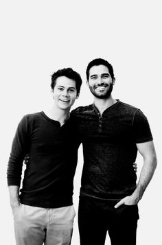 Dylan O´Brien and Tyler Hoechlin