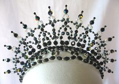 Black tiara for Black Swan.
