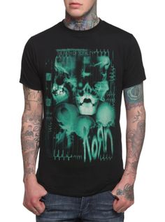Korn The Path Of Totality X-Ray T-Shirt | Hot Topic