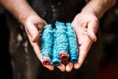 Autumn Glass Pumpkin- Ocean - The Museum Shop of The Art Institute of Chicago Glass Fusing Projects, Crochet Mat, Colour Story, Recycled Wine Bottles, Irish Design, Glass Wind Chimes, Glass Pumpkins, Woolen Mills, Chloe