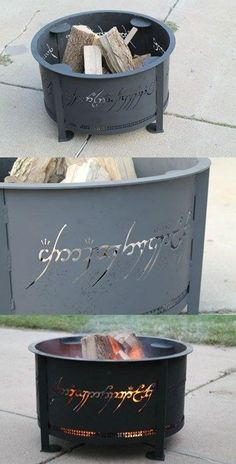 One Ring fire pit.