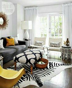 Colorido living room