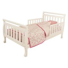 AFG International Furniture Athena Anna Toddler Bed in White -