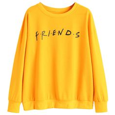 Colorful Dots Letter Sweatshirt ($22) ❤ liked on Polyvore featuring tops, hoodies, sweatshirts, yellow sweatshirt, multi color tops, polka dot top, yellow polka dot top and multicolor sweatshirt
