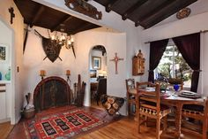 Living Room - 1929 Spanish Colonial Revival, Dana Point, California