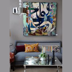 """""""Milan""""  Artwork by artist Khalid Shahin"""