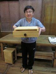 2011年5月21日 みんなの作品【引き出し・箱物】|大阪の木工教室arbre(アルブル)