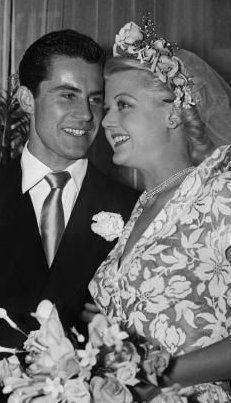 Angela Lansbury married Peter Shaw in London on 12th August 1949 until Peter's death 29th January 2003