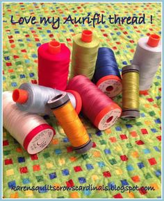 Karen's Quilts, Crows and Cardinals: Free Motion Quilting Fun - A Tutorial