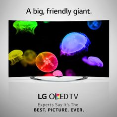 """""""You can't do better than this TV if you want a giant screen."""" Read all about it on #4k.com: http://4k.com/tv/a-review-of-the-lg-3d-curved-77eg9700-oled-4k-smart-tv/. #OLEDisHere"""