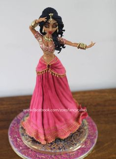 Bollywood Lady Cake - Cake by Zoe's Fancy Cakes Bollywood Cake, Bollywood Theme, Pretty Cakes, Beautiful Cakes, Amazing Cakes, Dancer Cake, Zoes Fancy Cakes, Indian Wedding Cakes, Indian Weddings