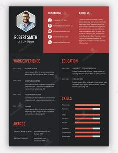 CV Example #CV #template CV Templates Pinterest