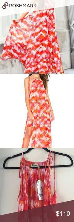 SMYM Rochester - Hot Magma Brand new, with tags!  Rochester Maxi Dress   Hot Magma  Feel free to ask any questions. Happy Poshing! Show Me Your MuMu Dresses Maxi