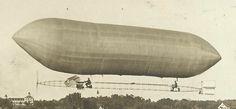 Des Moines IOWA RP 1909 U.S. ARMY Signal Corps BALLOON Airship Zeppelin