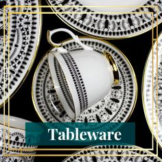 Gold Finished Fine Bone China and Tableware Check out our brand new collection of Insect Mandala Staffordshire fine bone china, hand decorated with gold detailing.